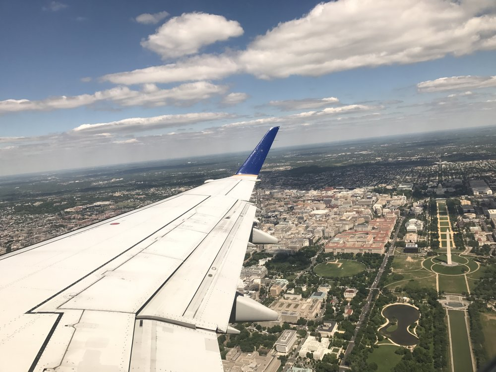 Take-Off from Washington DC
