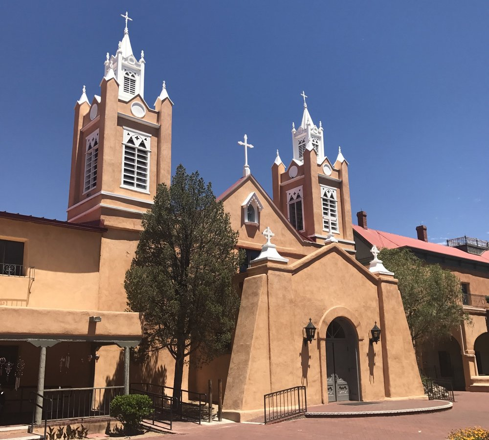 St. Phillip Neri Church in Old Town Albuquerque