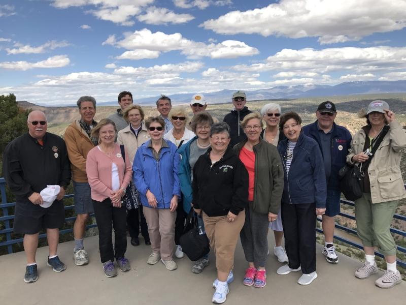 Group Photo Taken at White Rock Peak Overlook