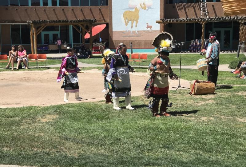 Child Pueblo Dancers