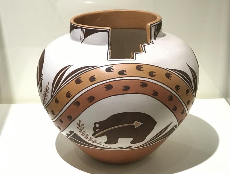Pottery Exhibit at the Indian Pueblo Cultural Center
