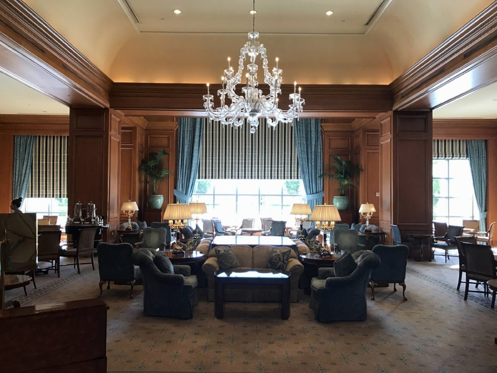 The Lobby of the Grand America Hotel