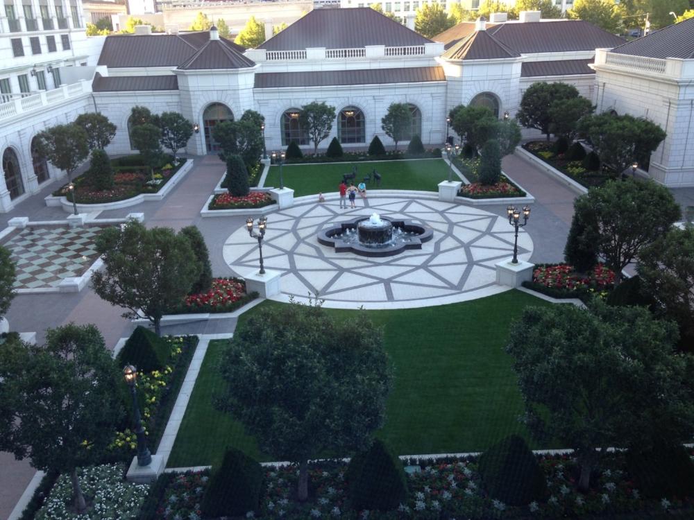 Garden at the Grand America Hotel