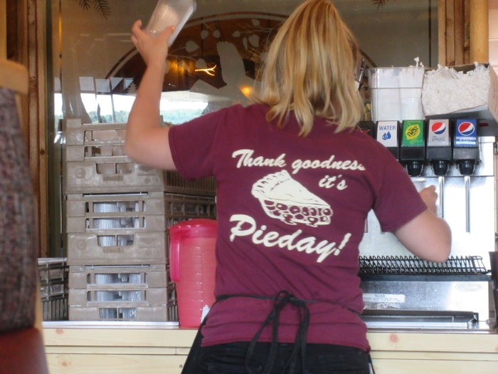 Every day is pie day at the Log Cabin