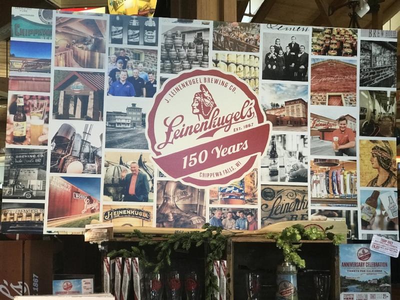 Leinenkugel's is celebrating their 150th Anniversary