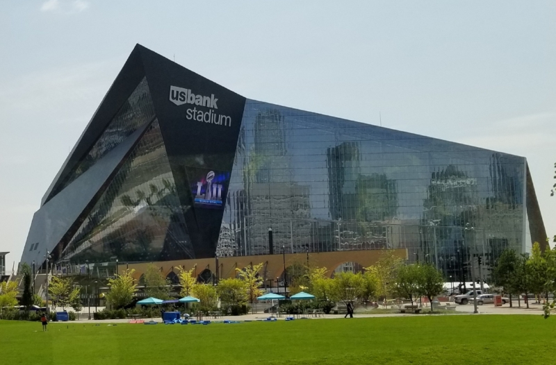 US Bank Stadium in Downtown Minneapolis will host the 2018 Super Bowl