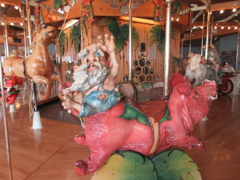 Carousel at Lark Toys