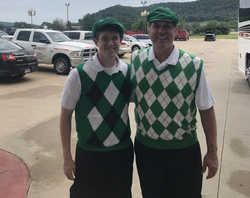 JD and Joe are ready to tee up!