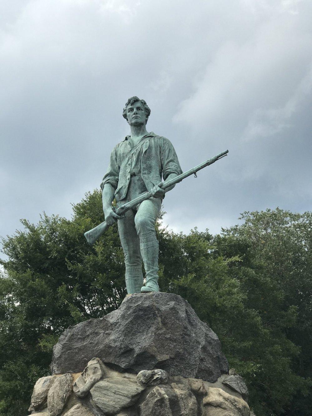 The Lexington Minuteman