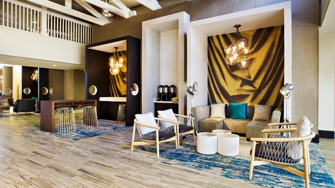 Lobby at DoubleTree Grand Key Resort