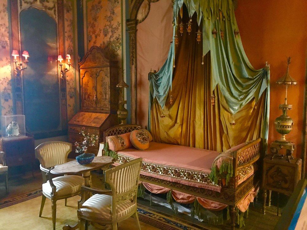 Guest Bedroom at the Vizcaya Estate