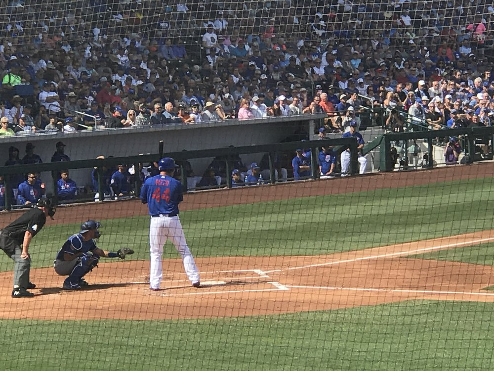 Anthony Rizzo up to bat