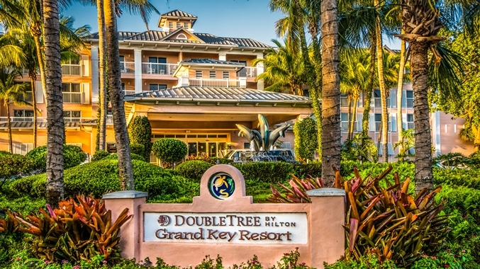 Tropical Gardens at DoubleTree Grand Key Resort