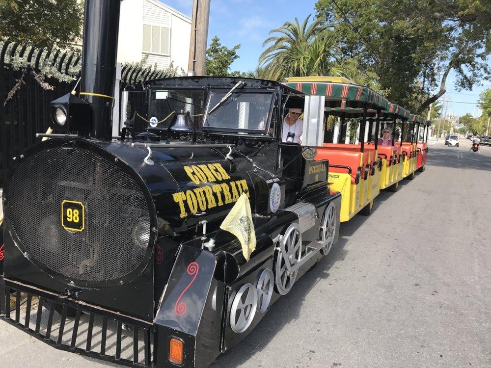 The Florida Keys Famous Conch Tour Train