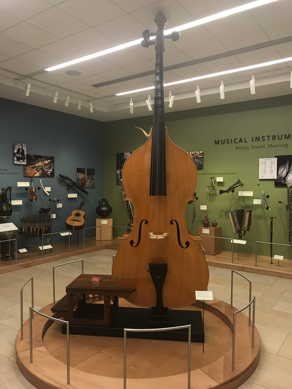 Giant Bass at the Musical Instrument Museum