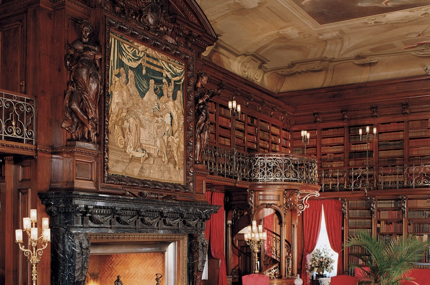Library at the Biltmore Estate