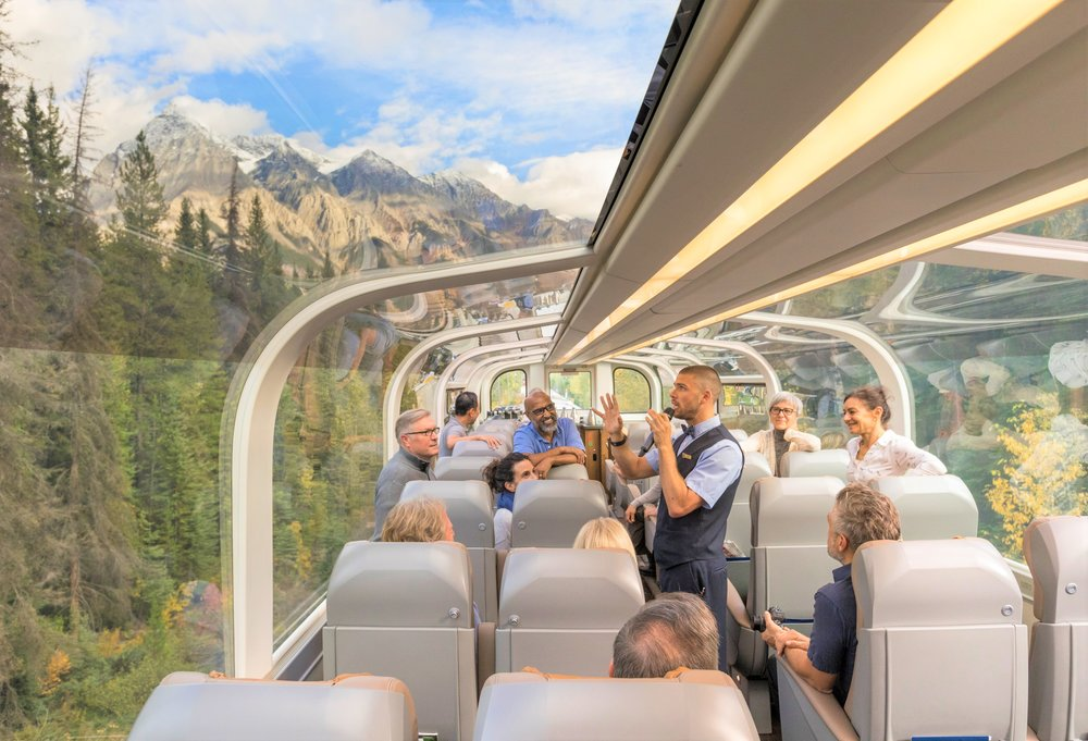 Canadian Rockies Train Excursion