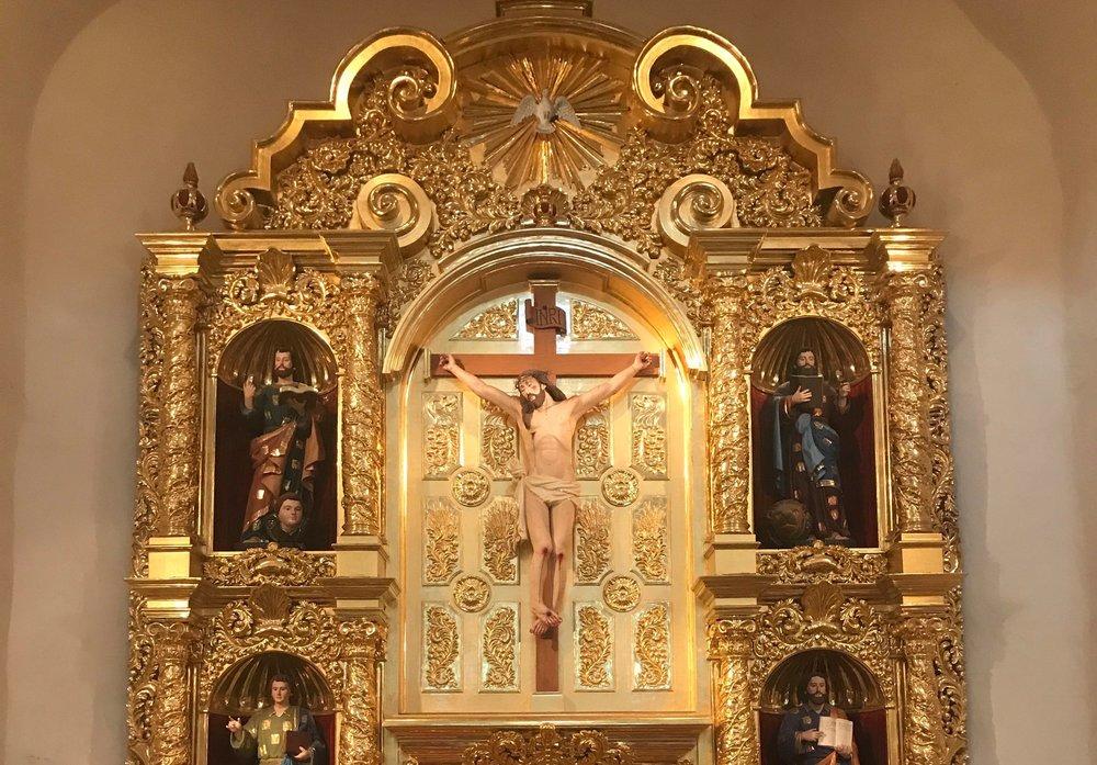 Beautiful Retablo at San Fernando Cathedral