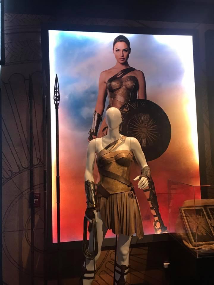 The Wonder Woman Costume Worn by Gal Gadot