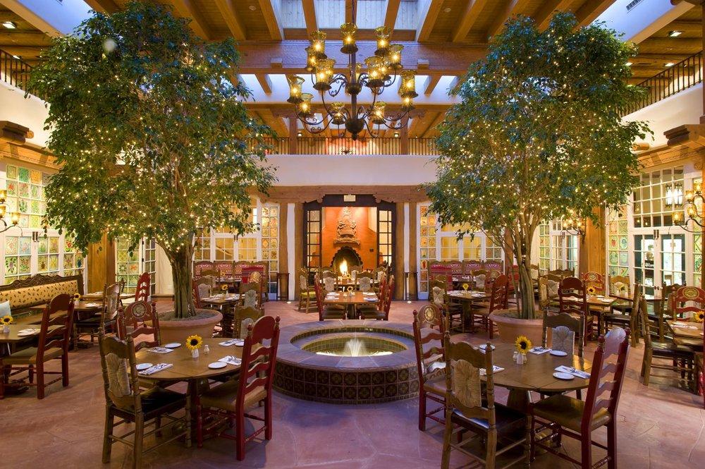 Restaurant at the Hotel La Fonda