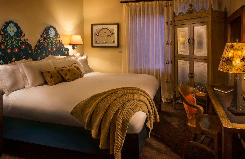 Room at Hotel La Fonda