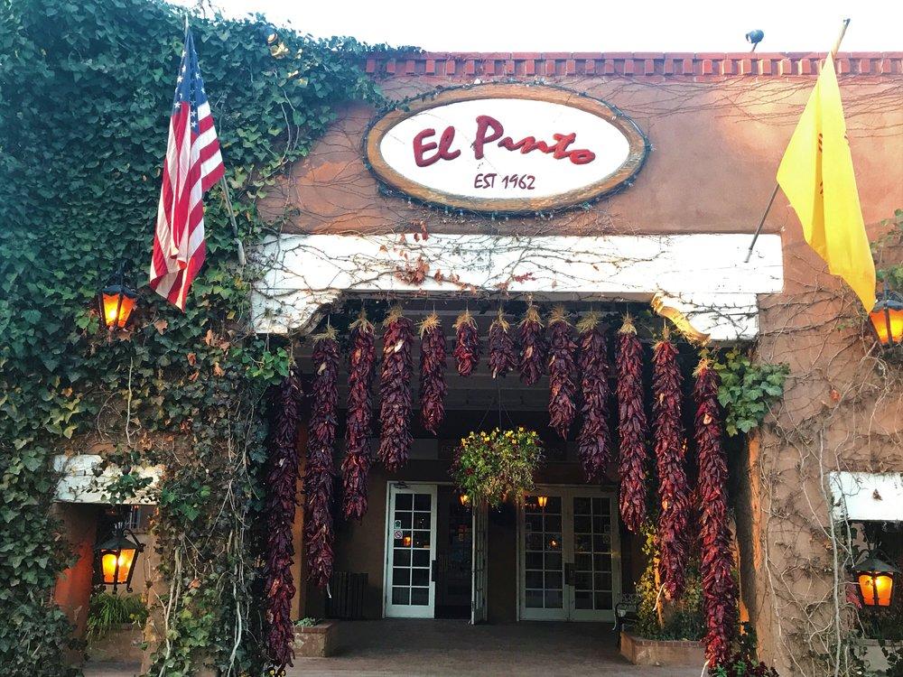 The Front Entrance El Pinto Restaurant