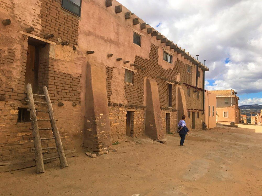 The Acoma Pueblo