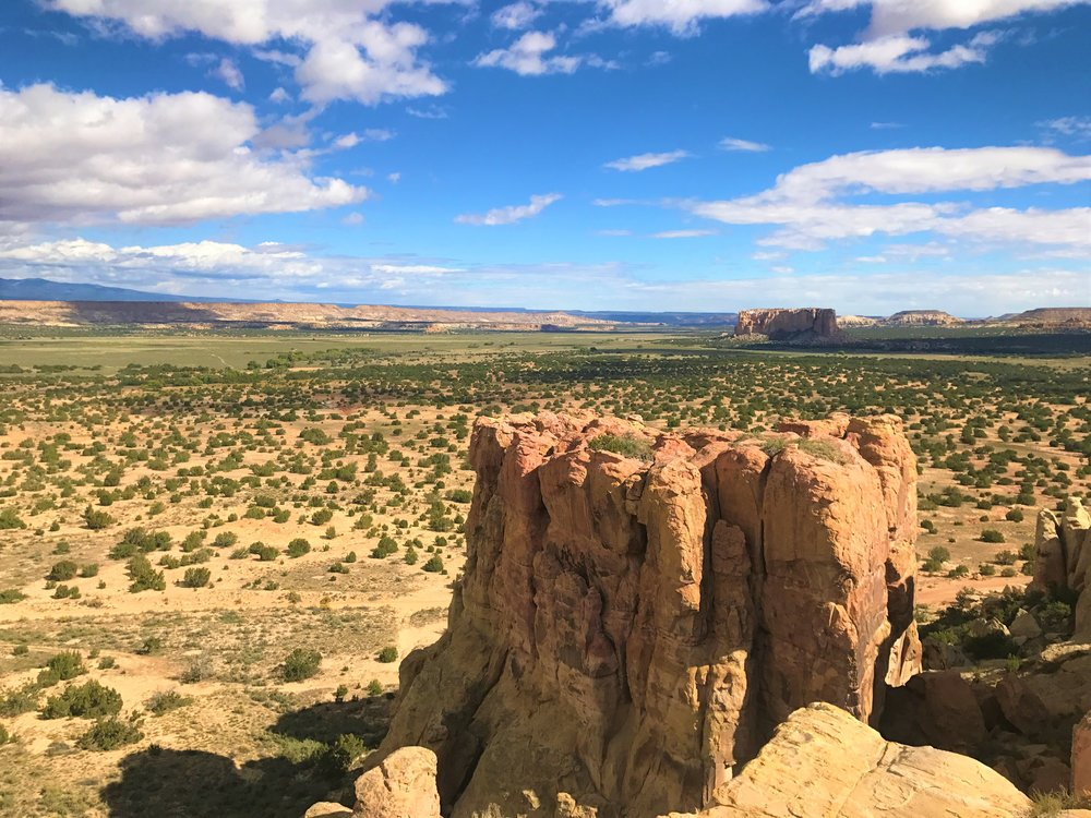 Beautiful Overlooks from atop the Acoma Pueblo