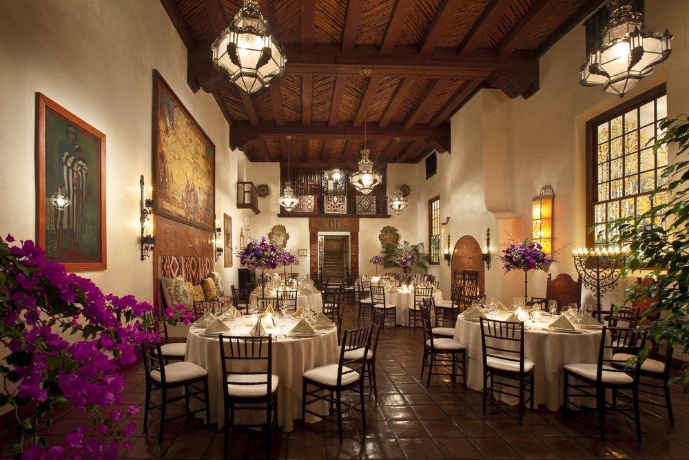 Private Dining Room at Hotel La Fonda