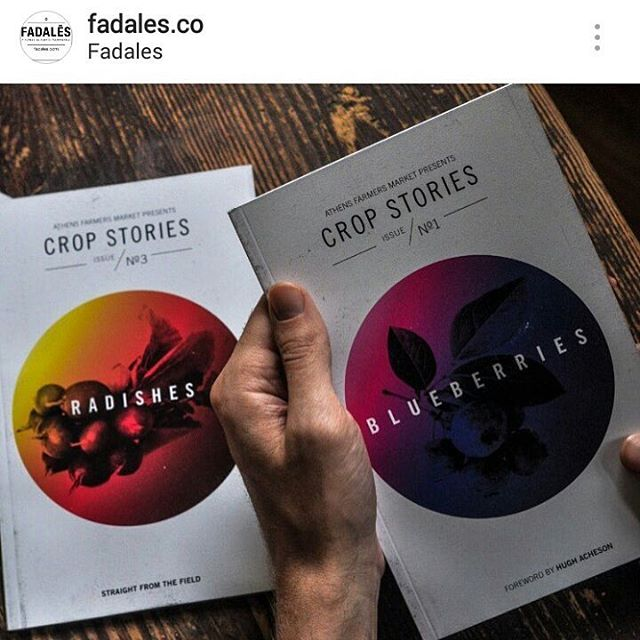 Hey North Carolinians! All three editions of #CropStories are now available at @fadales.co in Shelby. So glad to be expanding our stockist family!