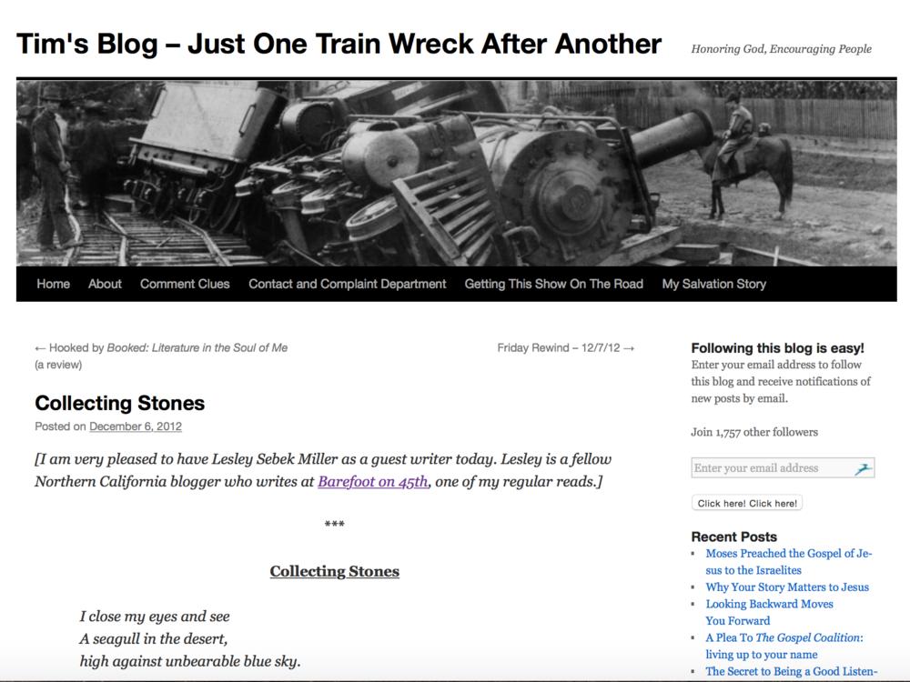 Tim's Blog, 2012