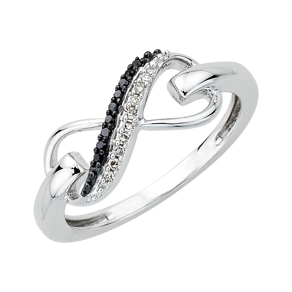 ellani jewellers double ring heart infinity jamies