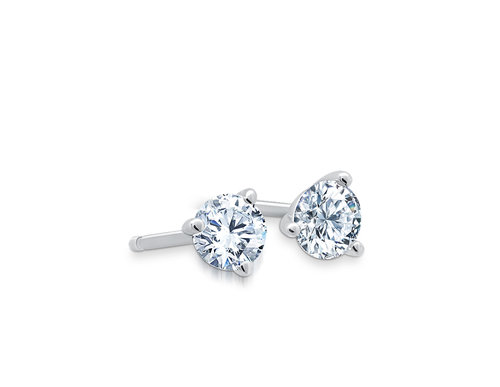 0914f082a 14 Karat White Gold Round Diamond Studs ~DE32500787~. martini studs.jpg
