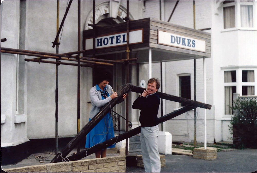 A History of Renovations.  All generations of the Dukes Folly have kept this essential practice.