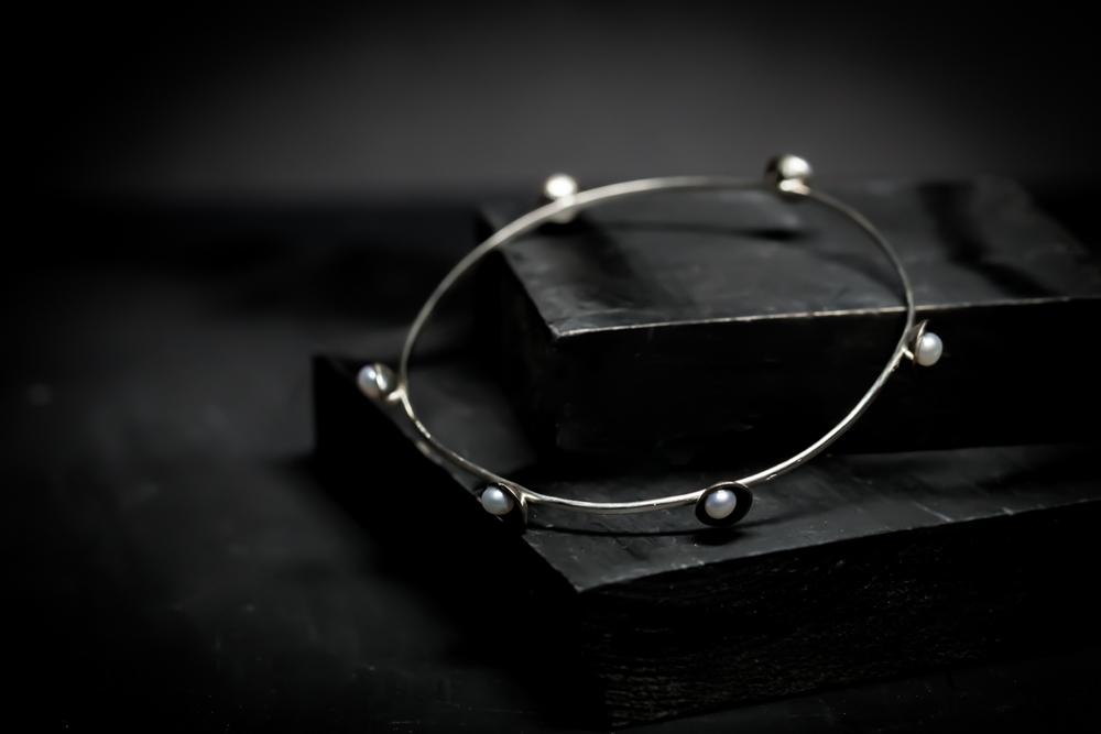 Pearl-Studded Bracelet