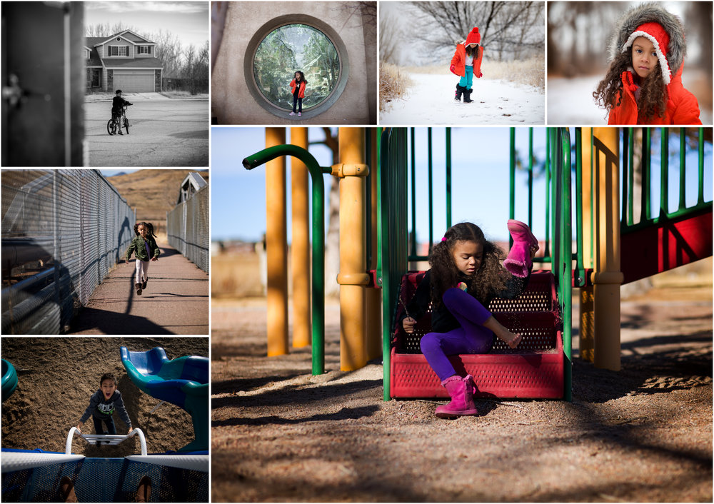 This week of images show a week of fun, adventure, color and drastic weather changes.