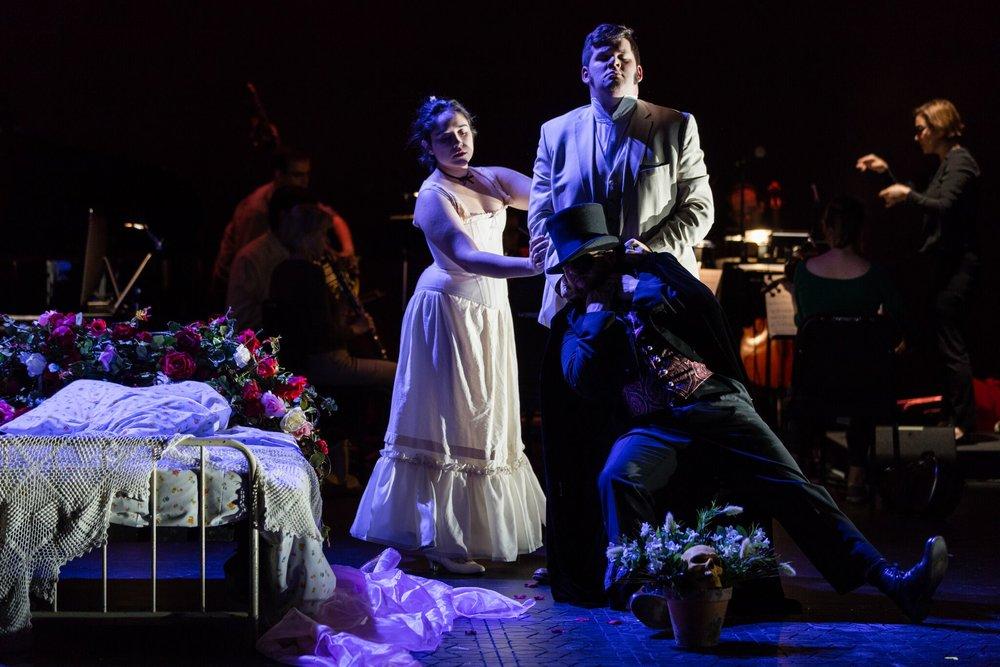 THE ROSE ELF (Opera Philadelphia, Double Exposure; 2018) Photo: Dom Mercier