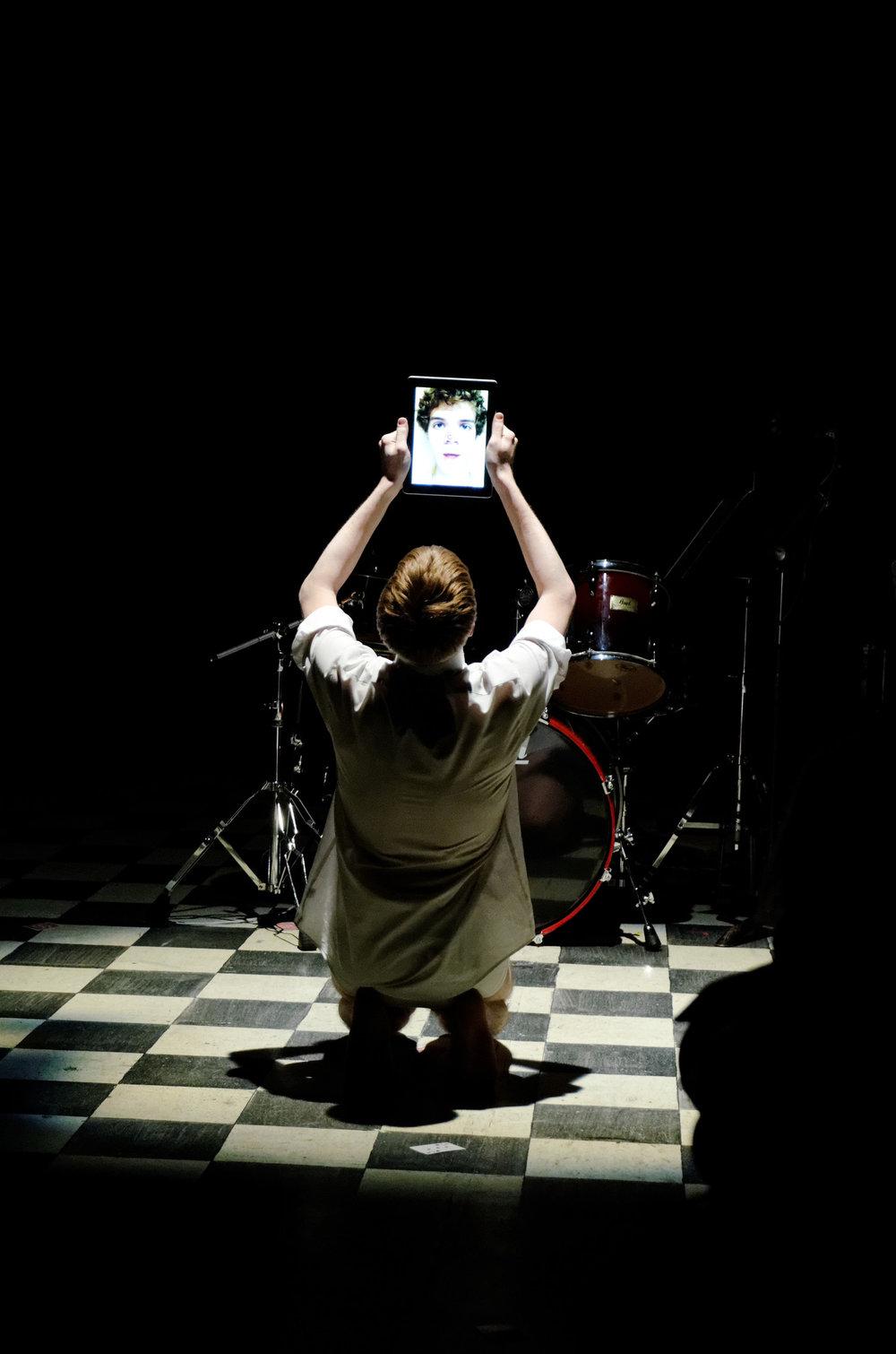 HIDE THE MOON: BASED ON SALOME (Rochester Fringe Festival; 2012) Photo: G. Szymanski