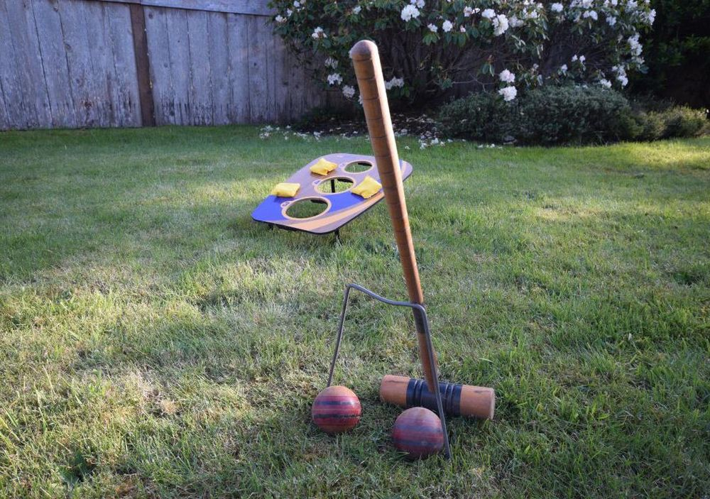 Croquet and Bean Bag Toss