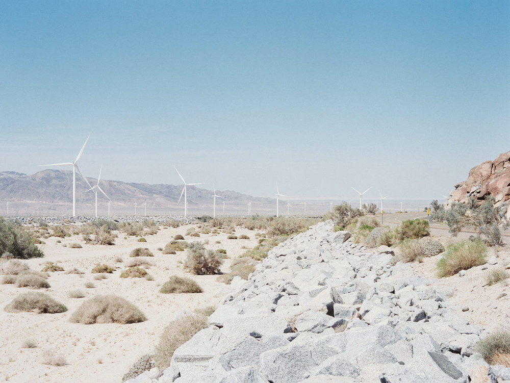 Wind Turbines, California, 2015