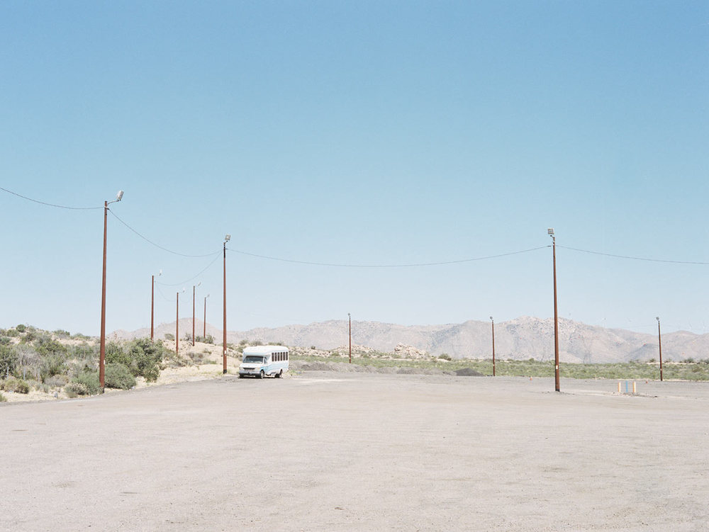 Parking lot, California, 2015