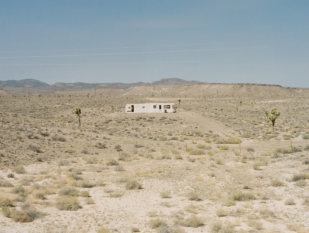 "Abandoned trailer From ""American Prayer"" Nevada, 2015"