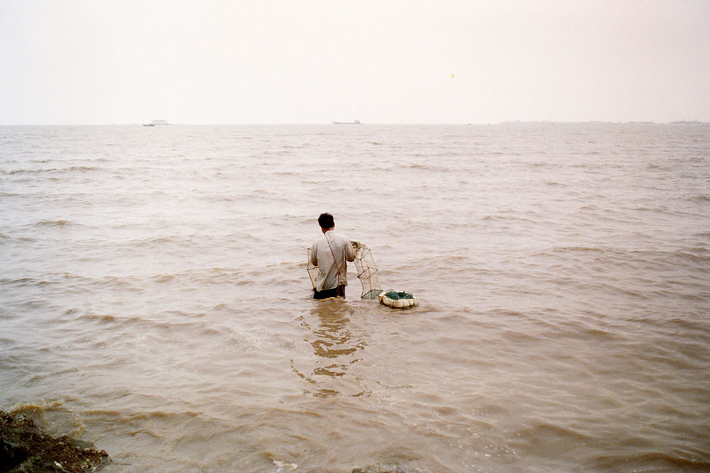 "Man in the sea From ""Made in China"" Shenzhen, China, 2012"