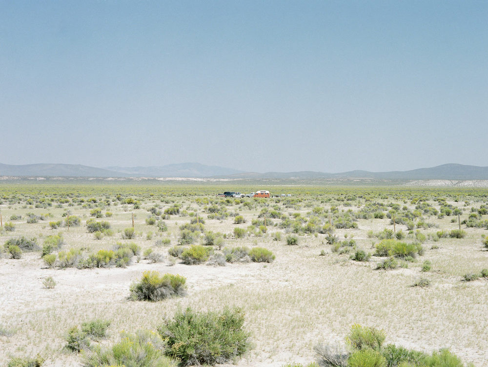 "Camping From ""American Prayer"" Nevada, 2015"