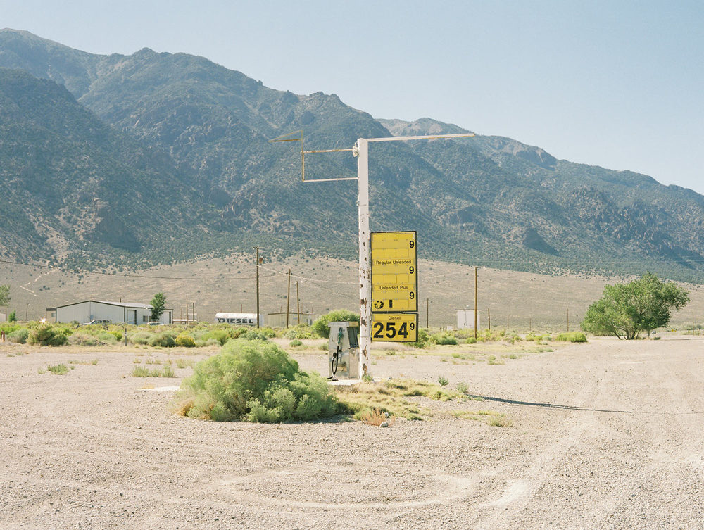 "Gas station From ""American Prayer"" Nevada, 2015"
