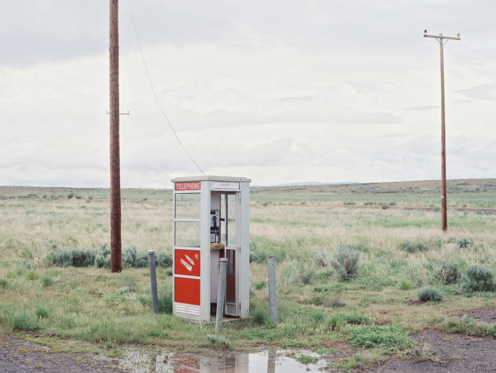 "Phone booth From ""American Prayer"" Nevada, 2016"
