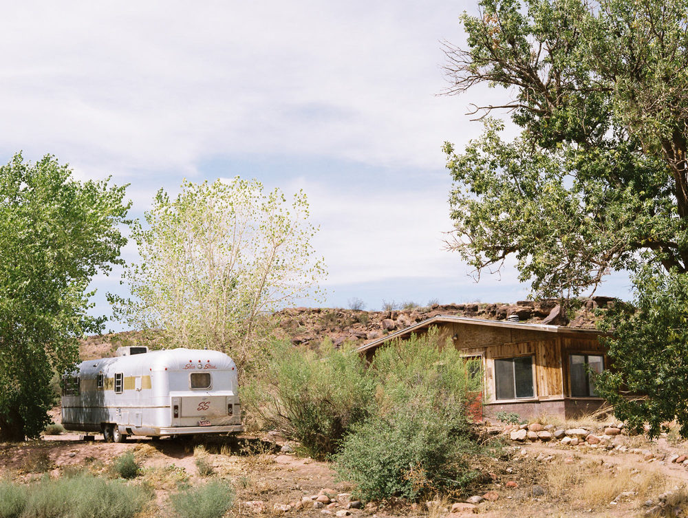 Trailer and house Utah, 2015