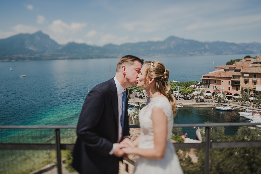 wedding on garda lake