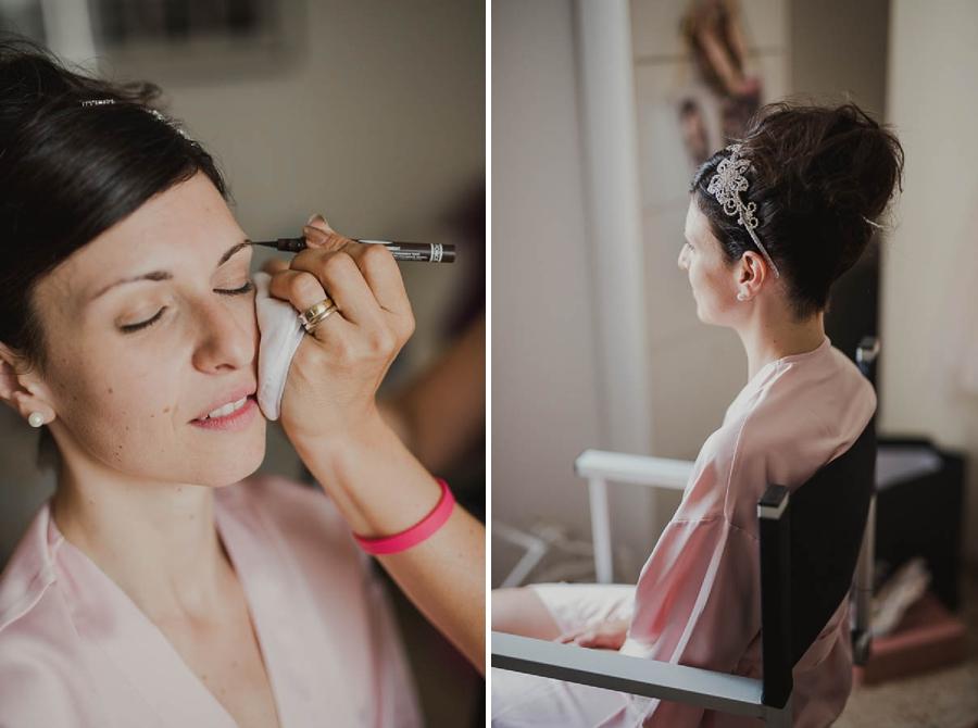 sposa make-up