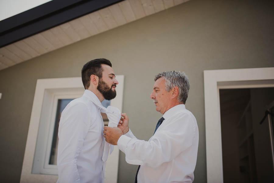 cravatta per sposo